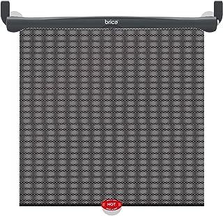 Brica White Hot Sun Safety Roller Shades, Black/Grey