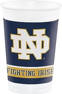 Notre Dame 20 oz Plastic Cups, 24 ct