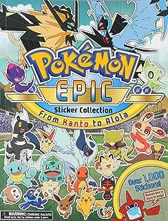Pokémon Epic Sticker Collection: From Kanto to Alola