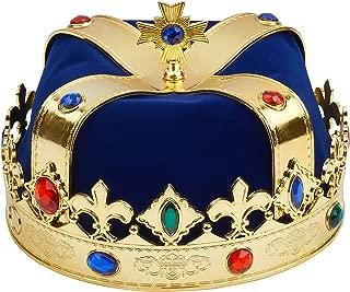 Best royal blue king crown Reviews