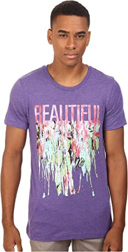 Life is Beautiful - Beautiful Drip - Crew Neck Tee