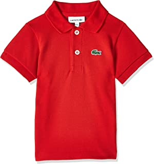 Lacoste Boy's Boy Ss Classic Pique Polo T-Shirt