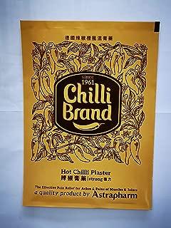ASTRAPHARM CHILLI Brand 16.7CM X 11.5MM External Strong Medicated Plaster