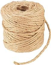 Connex Jute touw 3 mm x 50 m - om te binden, te decoreren en te verpakken - scheurvast & weerbestendig - van 100% natuurli...