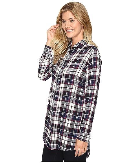 Plaid Jeans Jag Dye in Magnolia Tunic Yarn Rayon S0ycyOvW6