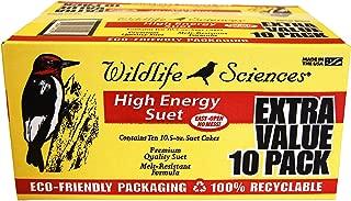 Wildlife Sciences High Energy Suet Cake 10 Pack