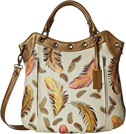 Anuschka Handbags - 546 Multi-Pocket Convertible Tote