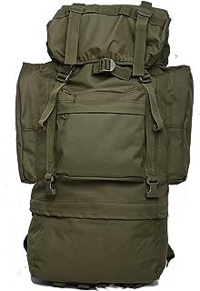 アウトドア 多機能 登山用バッグ 65L 大容量 防水耐震 雨対策 耐久性優れ レインカバー付 多ポケットアルパインパック 軍事ファン迷彩 バッグ 旅行 スポーツ 防災 バック 鞄 軍用 リュックサック バッグパック
