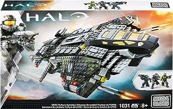 Mega Bloks Halo UNSC Vulture Gunship Building Set