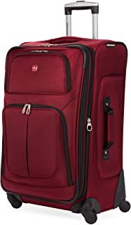 "SwissGear 25"" Luggage/Black/Red, One Size"