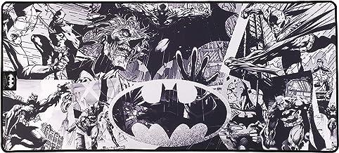 Subsonic Batman Tapis de Souris et clvier Antidérapant Finition Perlée Licence Officielle DC Comics Taille XXL 90 x 40 mm ...