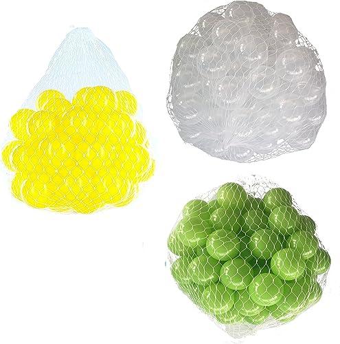 encuentra tu favorito aquí Pelotas para pelotas baño variadas Mix con verde claro, claro, claro, transparente y amarillo Talla 6000 Stück  100% a estrenar con calidad original.