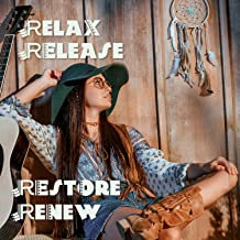 Relax, Release, Restore, Renew: Boho, Feel Nature, Candlelight, Cosy Atmosphere, Hippie Freedom