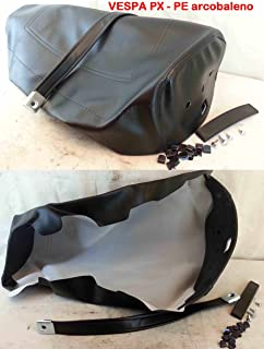 Scheide Einband für Sattel Vespa 125PX PE Regenbogen 125–150–200–Farbe: schwarz