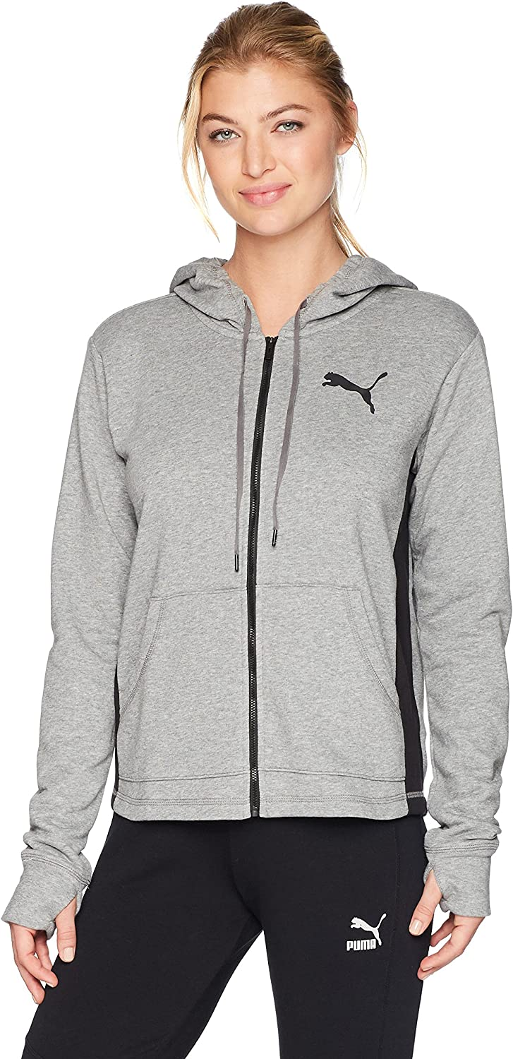 PUMA Womens Spark Sweat Jacket Sweatshirt