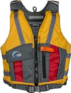 MTI Youth Reflex Life Jacket - Mango/Red - Youth (50-90 lb)