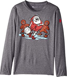 Under Armour Kids - Breakaway Santa Long Sleeve (Little Kids/Big Kids)