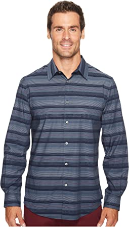 Wide Engineered Multi Stripe Shirt