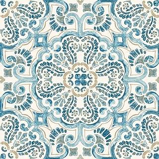 WallPops FP2477 - Juego de 10 azulejos para suelos de