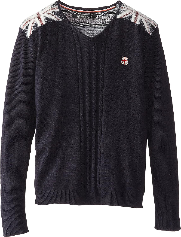 John Biaggio Big Boys' V-Neck Londoner Sweater