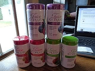 juice plus chewables nutrition facts