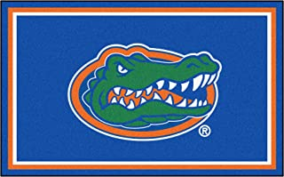FANMATS NCAA University of Florida Gators Nylon Face 4X6 Plush Rug