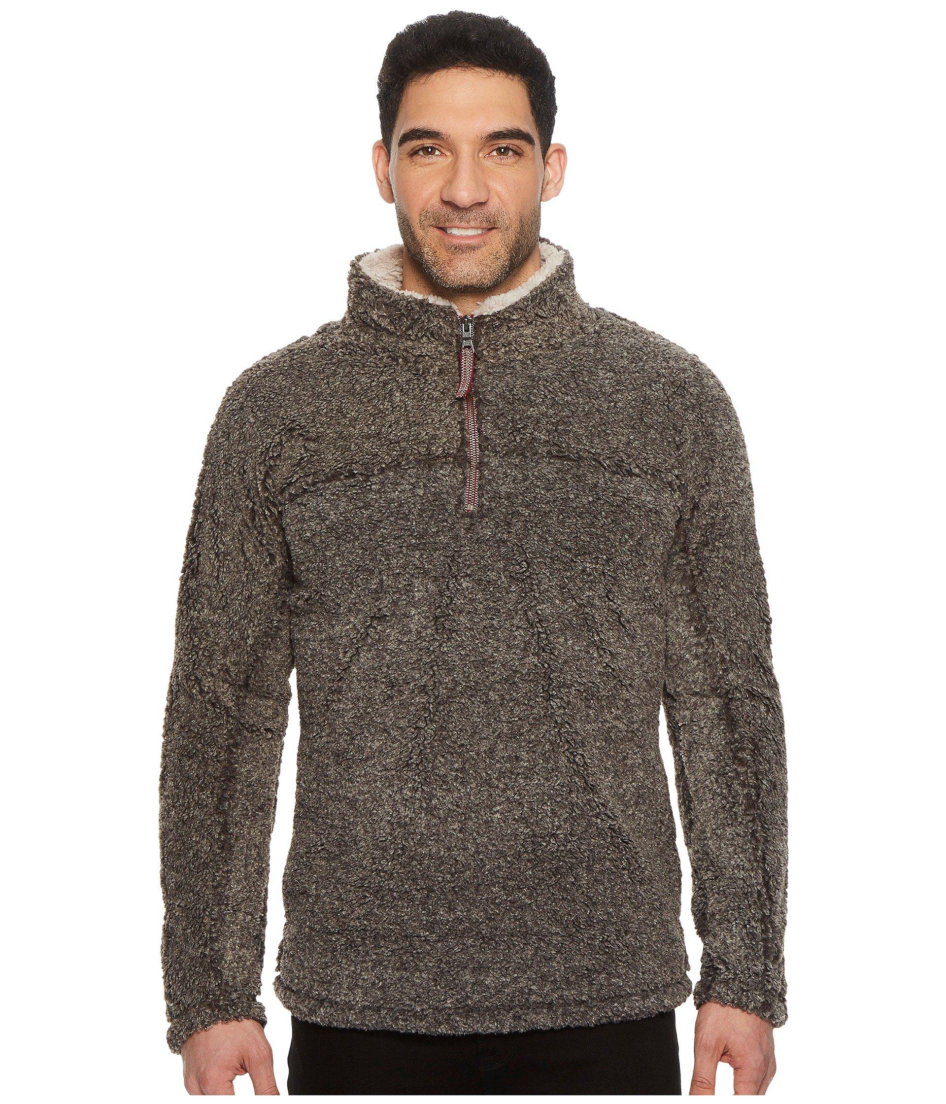 Zip 4 Shearling Charcoal Luxe True Pullover Grit Melange 1 xBqXq8Ytw