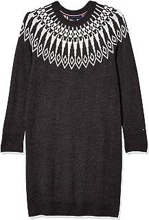 Tommy Hilfiger womens Fairisle Sweater Dress Casual Dress