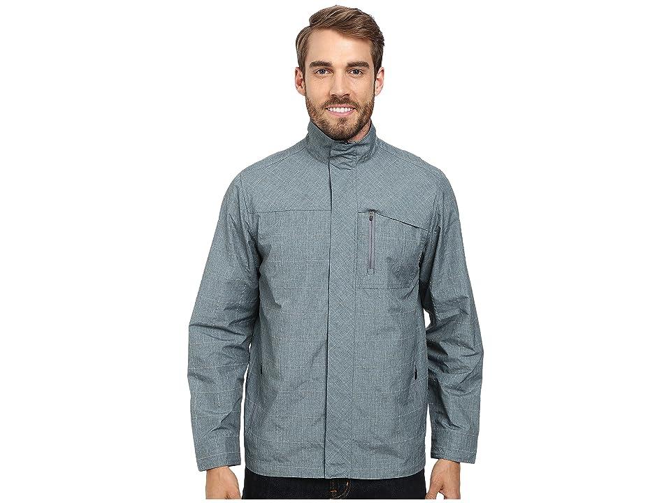 Royal Robbins Lucent Travel Jacket (Steel Blue) Men
