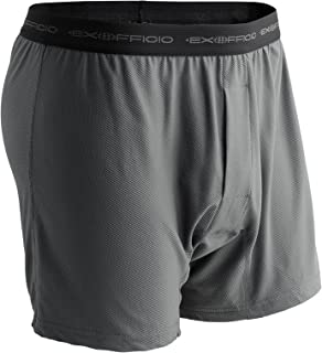 ExOfficio Men's Give-N-Go Boxer (2 Pack - XX-Large, Charcoal)