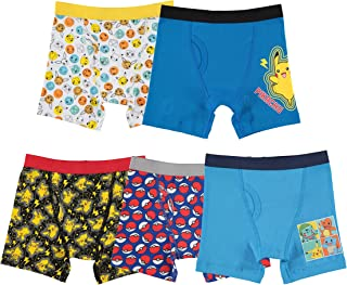 Handcraft Boys' Pokemon 5pk Boxer Briefs - Multi