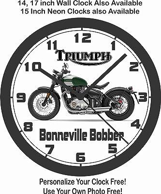 Amazon Com 2017 Triumph Bonneville T100 Wall Clock Free Us Ship