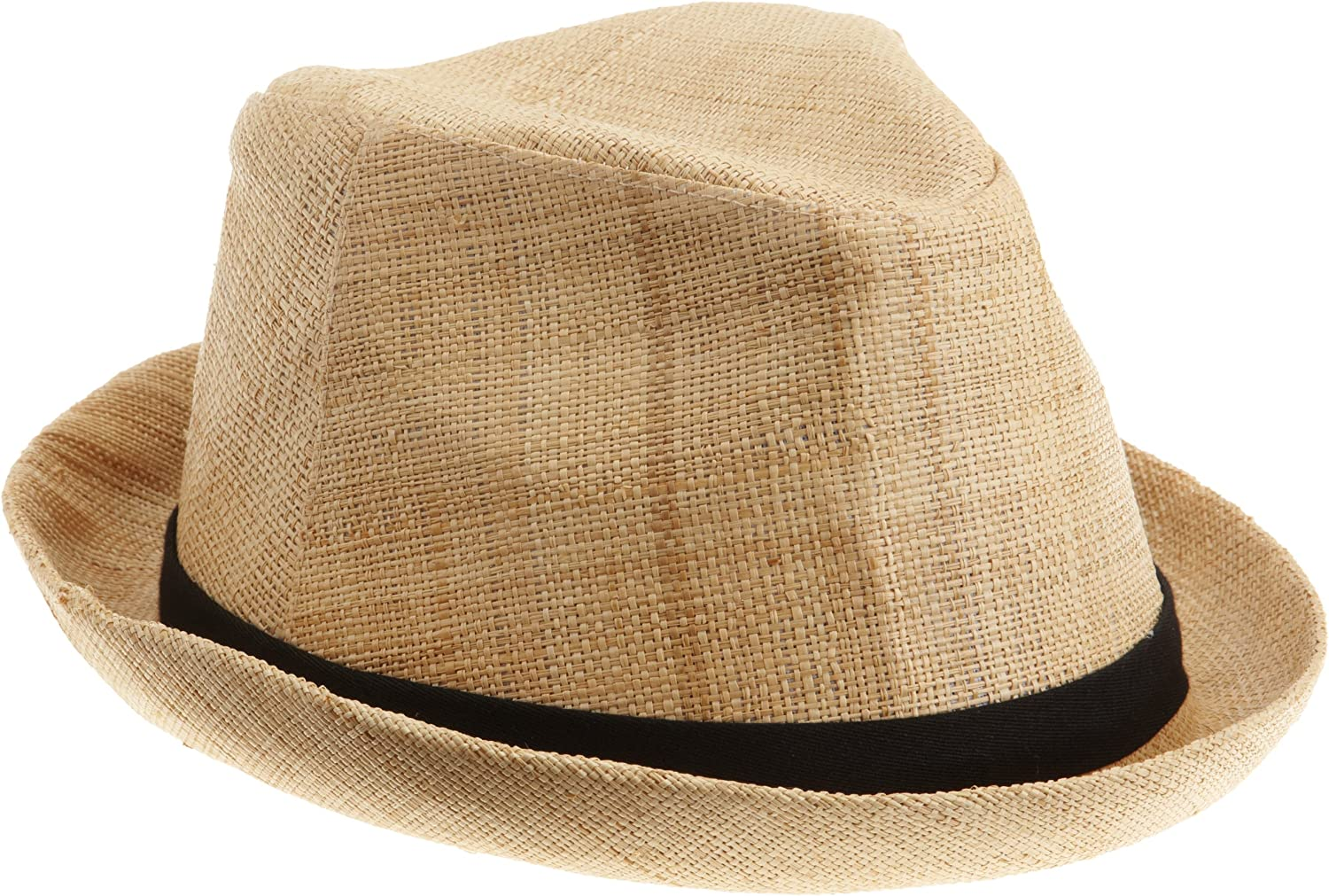 San Diego Hat Company Fedora sold out Women's Classic Natural Raffia