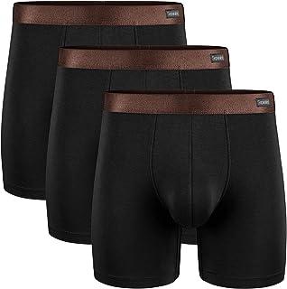 Separatec Men's Underwear 3 Pack Basic Bamboo Rayon