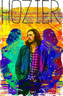 Hozier poster hanging wall art