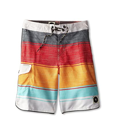 Rip Curl Kids All Time Boardshorts (Big Kids) (Orange Popsicle) Boy