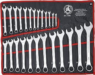 Kraftmann 1198 Kombinationsnyckel, Silver, 25 Stycken