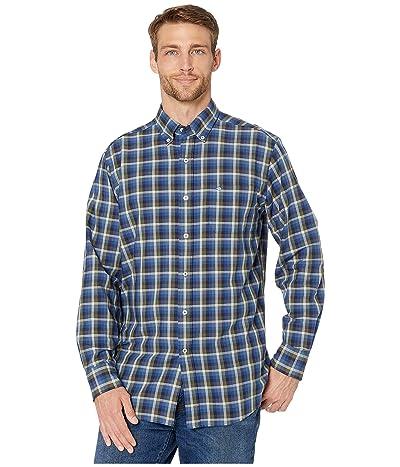 Southern Tide Picket Boat Oxford Sport Shirt (Seven Seas Blue) Men