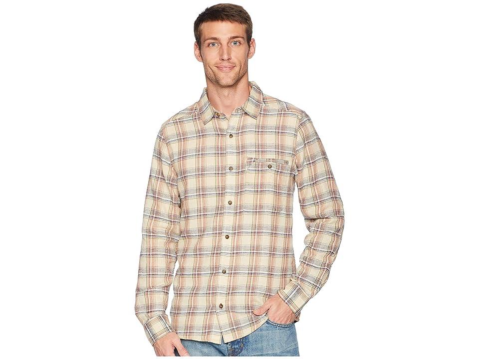 Toad&Co Singlejack Long Sleeve Shirt (Salt) Men