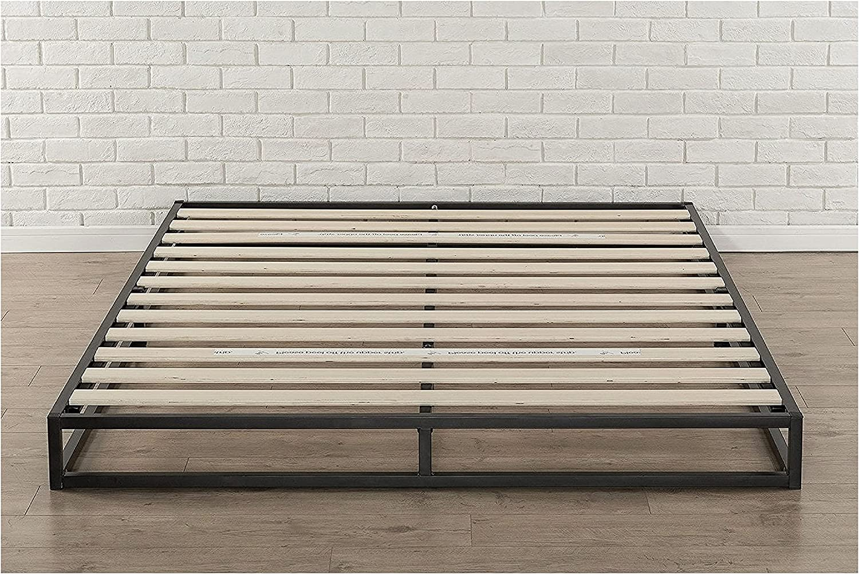 HomyDelight Queen Size OFFer 6-inch Low Platform Metal Challenge the lowest price of Japan ☆ Bed File Frame