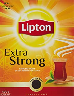 Lipton Extra Strong Black Tea , 400g