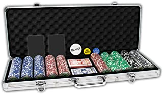 Da Vinci Professional Casino Del Sol Poker Chips Set with Case (Set of 500), 11.5gm, with..