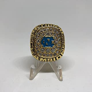 Sean May North Carolina Tar Heels High Quality Replica 2004-05 ACC & NCAA Tournament National Championship Ring Size 10.5-Gold Colored US SHIPPING