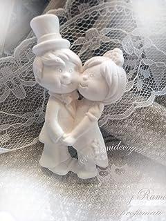 20 Gessetti profumati sposini,segnaposto matrimonio