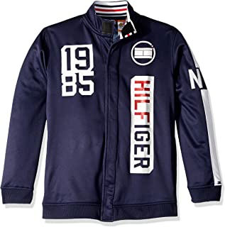 Boys' Adaptive Track Jacket with Magnetic Buttons