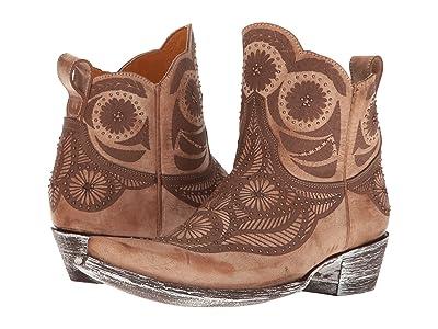 Old Gringo Valentine Dion (Crackled Whiskey) Cowboy Boots