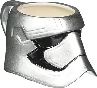 Zak Designs Star Wars The Force Awakens Captain Phasma Ceramic Coffee Cup Mug 14 Ounce