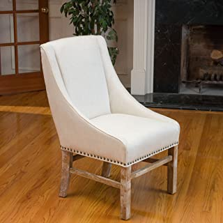 Christopher Knight Home James Fabric Dining Chair, Natural