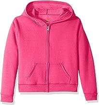 Hanes Big Girls' ComfortSoft Ecosmart Full-Zip Fleece Hoodie