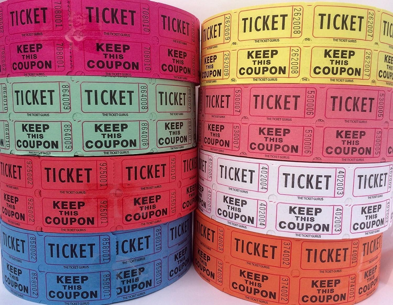 Ticket Guru-Raffle Tickets Finally resale start - sold out 4 8 of Rolls 2000 Double